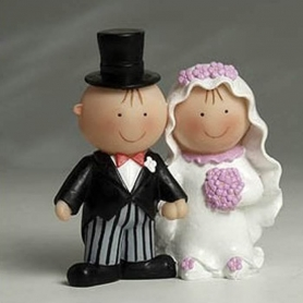Bonecas De Bolo De Casamento