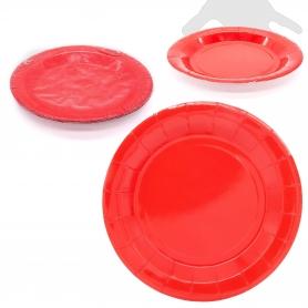 Pack de grandes pratos coloridos