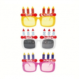 Óculos de aniversário