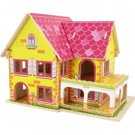 Casa de quebra-cabeças 3D