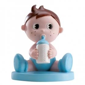 Figura para bolo de bebê com bibi