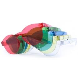 Óculos de sol transparentes