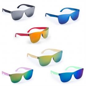 Óculos multicoloridos
