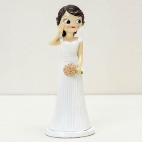 Boneca de bolo de casamento