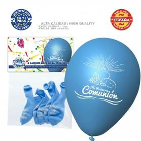 Pacote de balões de comunhão azul
