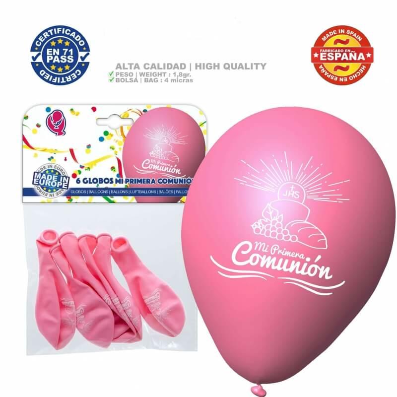 Balões decoração pacote comunhão