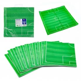 Pack de guardanapos de futebol