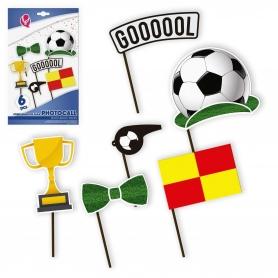 Photocall de futebol