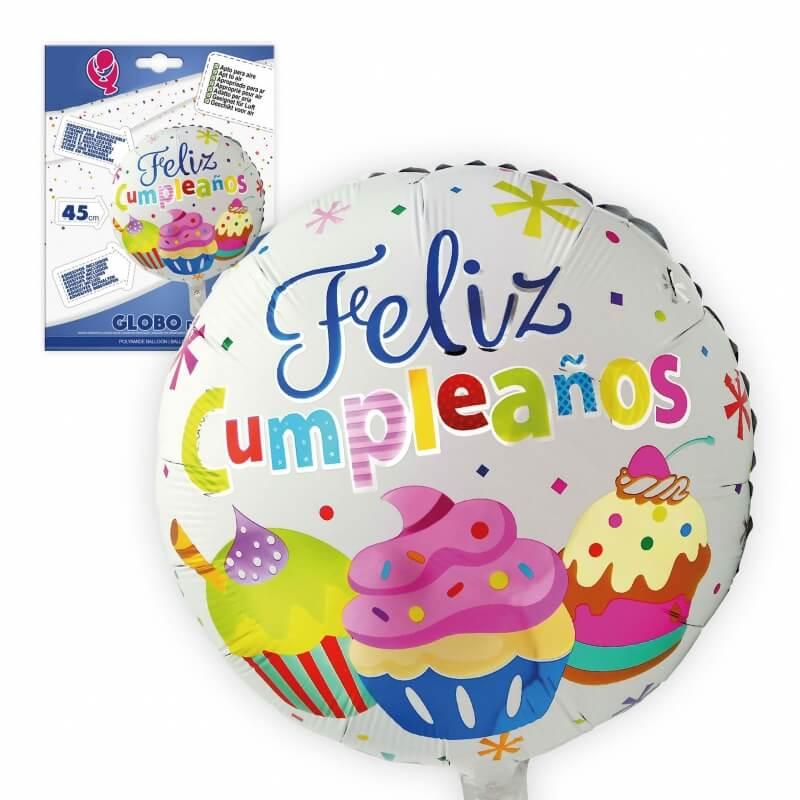 Balão de feliz aniversário