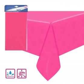 Toalha de mesa rosa