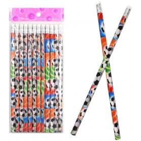 Lápis de futebol