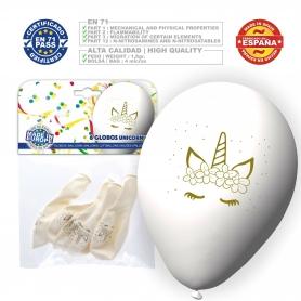 Pacote de balões de unicórnio