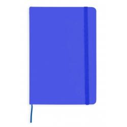 Bloco de notas azul