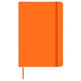 Bloco de notas laranja