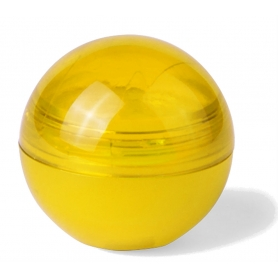 Protetor labial amarelo