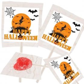 Pirulitos de Halloween