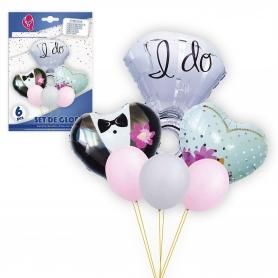 Pacote de balões de casamento