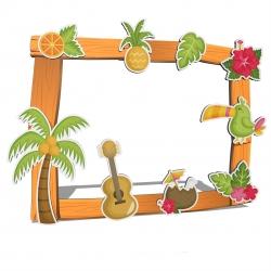 Photocall havaiano