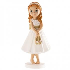 Figura de menina de comunhão