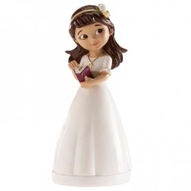 Figura de comunhão menina
