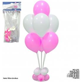 Carrinho decoração balão
