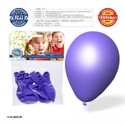 Pacote de balão lilás