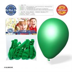 Pacote de balão verde limão