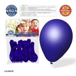 Pacote de balão azul marinho