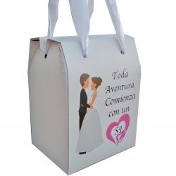 Caixas de frases de casamento