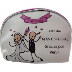 Detalhe da bolsa de casamento