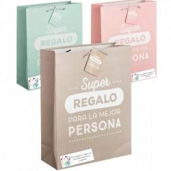 Sacos de papel de presente personalizado
