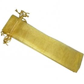 Saco de organza para os fãs de ouro