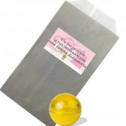 Bálsamo com envelope e adesivo