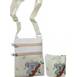 Bolsa de coala e frase