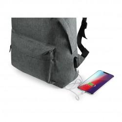 Mochila com estação de carregamento USB para meninos