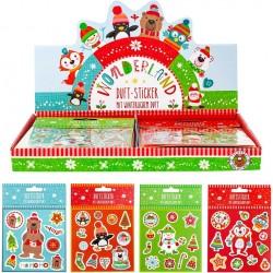 Pacote de adesivos de figuras de Natal para crianças