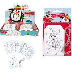 Pacote de cartões de Natal personalizáveis para crianças