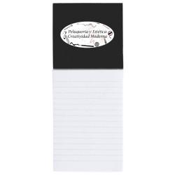 Caderno magnético personalizado para negócios