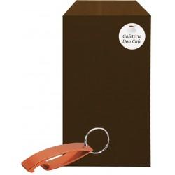 Porta-chaves abridor com envelope comercial personalizado