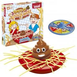 Divertido jogo de tabuleiro pegue o espaguete
