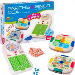 Conjunto divertido de 3 jogos de tabuleiro para crianças