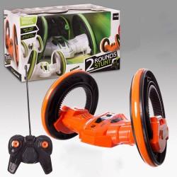 Carro de acrobacias com controle de rádio de 2 rodas
