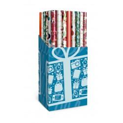 Embalagem de presente de Natal barata em 6 modelos variados