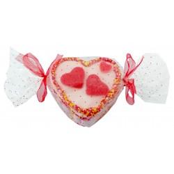 Mini Bolo Doce em Forma de Coração