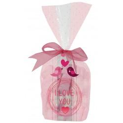 Sacos de doces baratos para o Dia dos Namorados