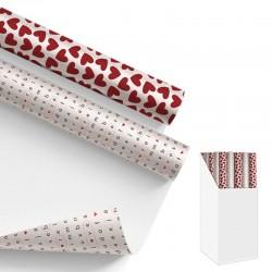 Embalagem de presente Amor. 2 modelos variados