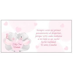 Cartão Romântico de São Valentim