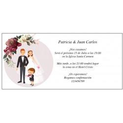 Convites de casamento originais com filho