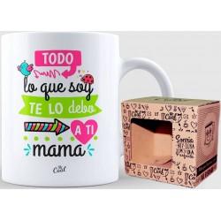 Caneca de presente para mamãe com bela frase