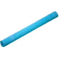 Papel crepom para decorar azul claro
